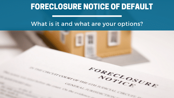What Is A Foreclosure Notice Of Default In Denver, CO? Property Scouts can help explain what it means and your options.